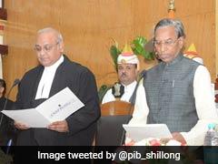 Ganga Prasad Sworn In As Meghalaya Governor