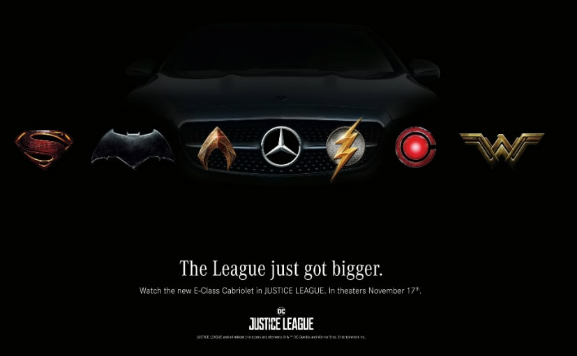 Justice League Is 'Hard to Resist' in New Mercedes Promo