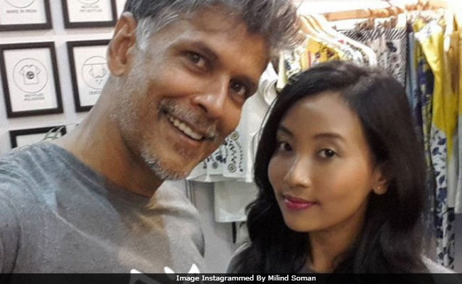 Amazon India Fashion Week: Milind Soman Posts Pic With Girlfriend Ankita