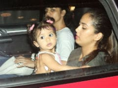 Inside Baby Misha's Day Out With Mom Mira Rajput