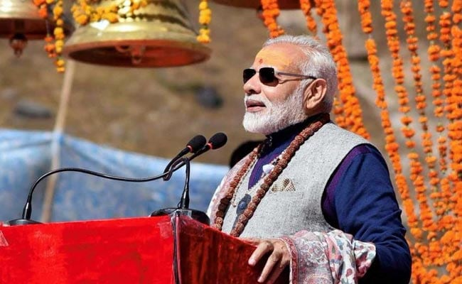 Congress Didn't Let Me Rebuild Kedarnath As Gujarat Chief Minister, Says PM Modi