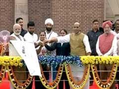 Rashtriya Ekta Diwas: PM Modi Flags Off 'Run For Unity' On Sardar Patel's 142nd Birth Anniversary