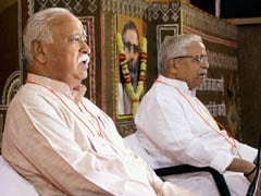 RSS Leaders Pay Tribute To Murdered Journalist Gauri Lankesh