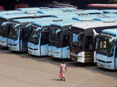 Talks Fail To End Maharashtra Transport Workers' Strike