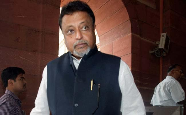 Former Trinamool Leader Mukul Roy Likely To Be Inducted In BJP In November