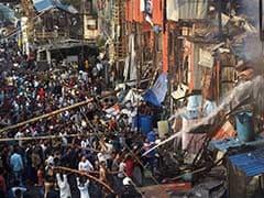 After Fire At Mumbai Slum, Thousands Left Homeless