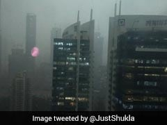 Heavy Rain, Thunderstorm Hit Mumbai, Sky Turns Dark At 4:30 PM