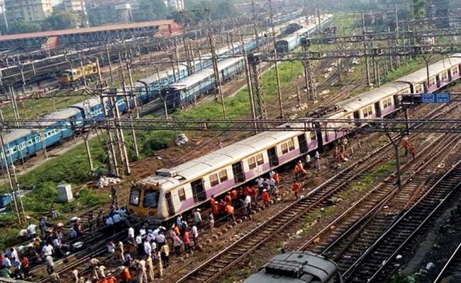 Local Train Derails In Mumbai's Chhatrapati Shivaji Maharaj Terminus Station; None Hurt