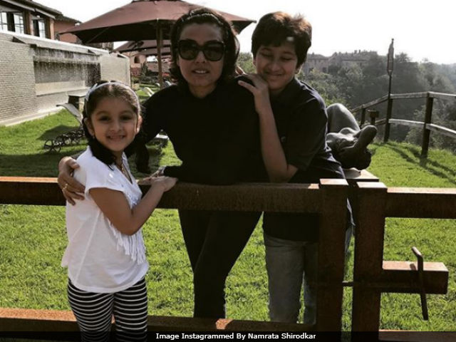 Mahesh Babu's Wife Namrata And Kids Are In Tuscany. But Where's The SPYder Star?