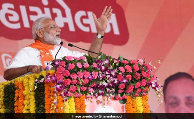 To Counter  Chai-Wala  Jibe, BJP Prepares For Massive Showdown In Gujarat