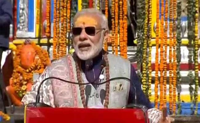Prime Minister Narendra Modi visits Kedarnath shrine