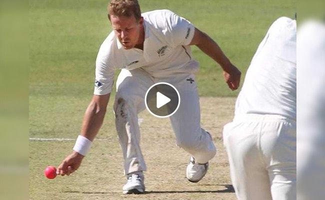 Video: न्यूजीलैंड के गेंदबाज नील वैगनर ने बल्लेबाज को ''धोखे से'' किया रन आउट तो हुई आलोचना