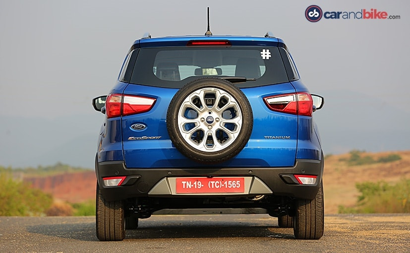 The spare wheel on the Ford Eco Sport remains but the spare tyre cover is an added accessory