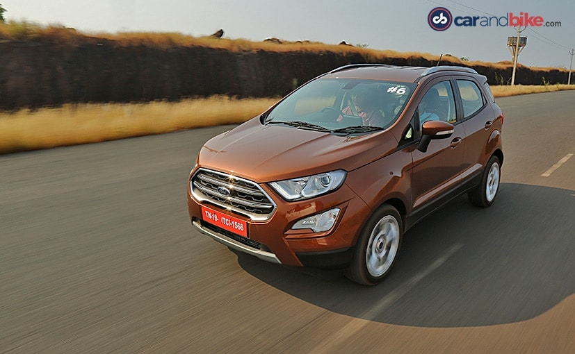 The Ford Ecosport also packs in features like LED daytime running lights