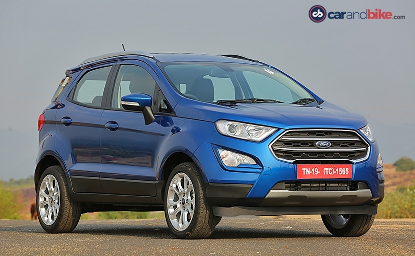 New 2017 Ford Ecosport Facelift Review Ndtv Carandbike