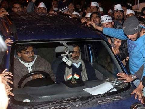 Arvind Kejriwal\'s blue WagonR, missing for 2 days, found near Delhi. Read here