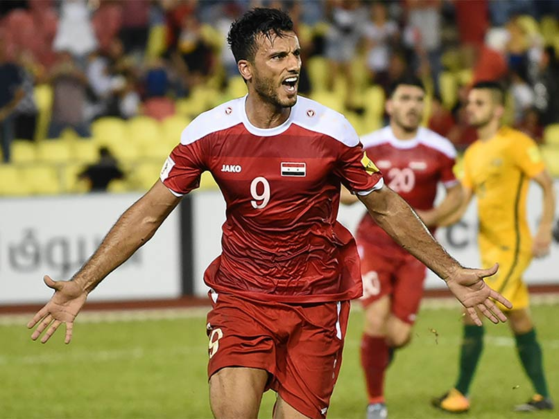 Disputed Penalty Lifts Syria World Cup Hopes