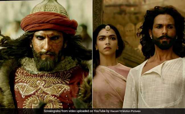 #PadmavatiTrailer: रिलीज हुआ 'पद्मावती' का ट्रेलर, दीपिका-शाहिद को छोड़ रणवीर सिंह पर टिकी निगाहें