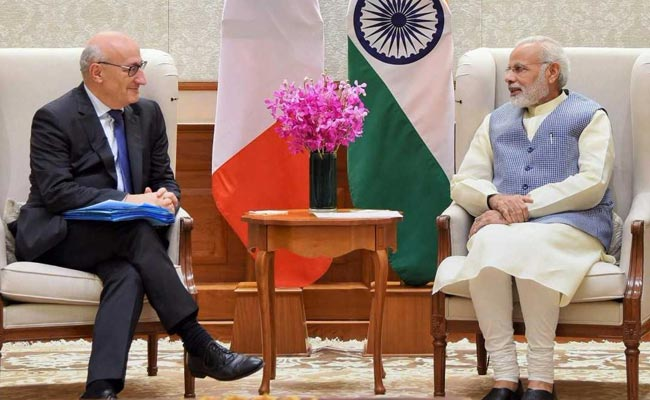 India, France Discuss Strengthening Of Defence, Security Ties