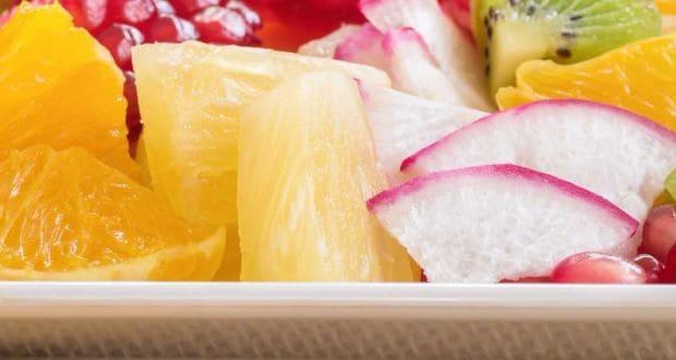 pineapple and mooli kachumbar recipe