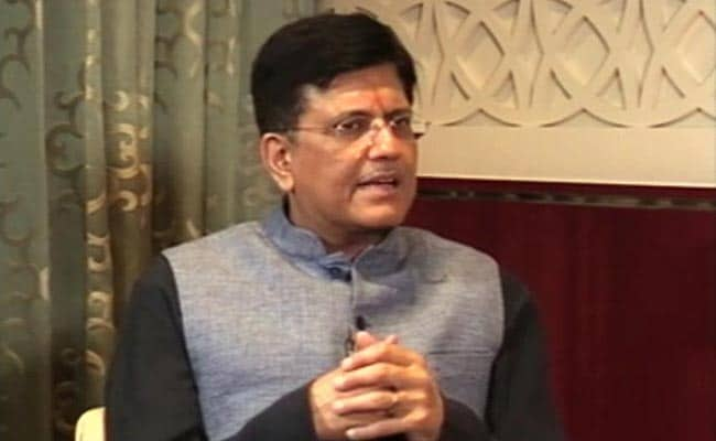 Transport, Energy Solutions High On Piyush Goyal's Agenda In Davos