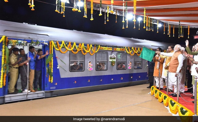 Highlights: PM Modi Inaugurates Bidar-Kalburgi Railway Line, Flag Off Train Services