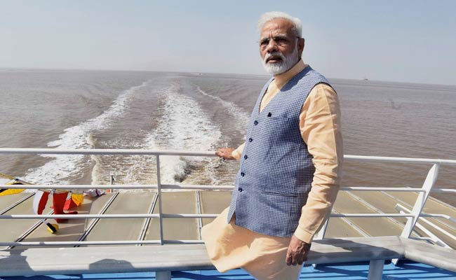 pm modi gujarat ferry pti