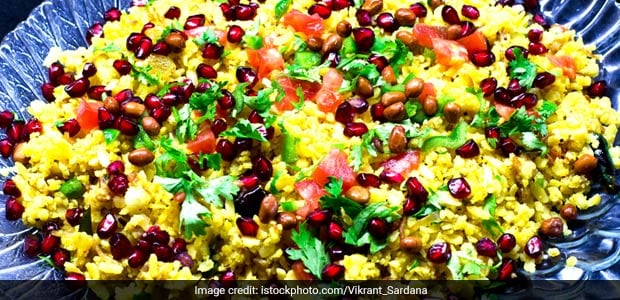 High Protein Breakfast: This Moong Dal Sprouts Poha Recipe Is Quick, Wholesome And Very Easy