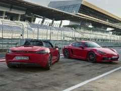 New Porsche 718 Cayman And Boxster GTS Unveiled