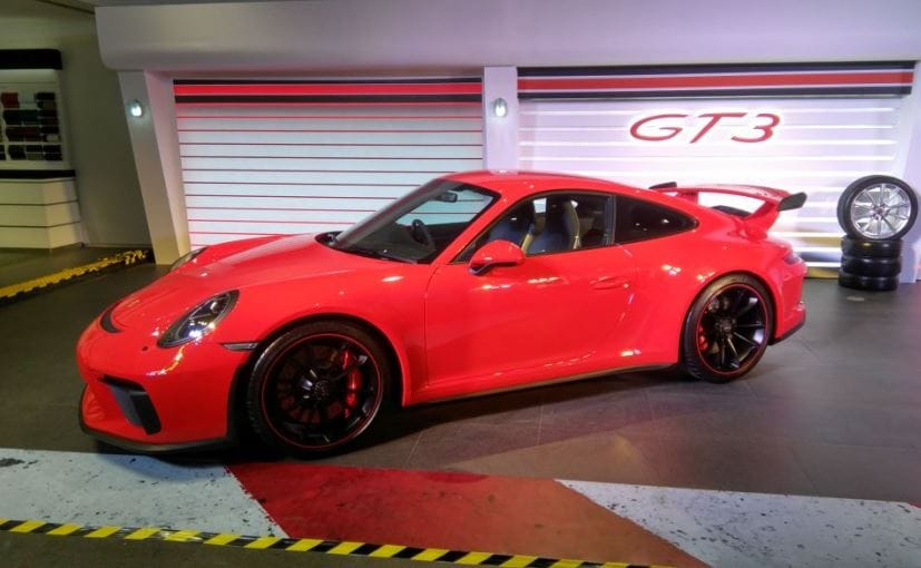 Porsche rolls out 911 GT3 priced at ₹2.31 crore