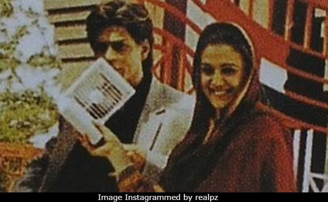 Preity Zinta In Blast From The Past With Shah Rukh Khan