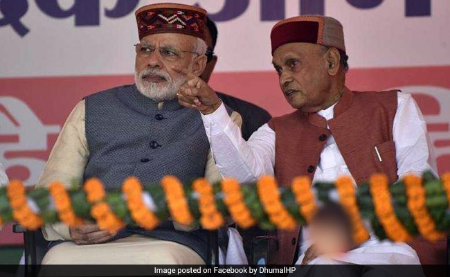 In Himachal Elections, PK Dhumal Faces Protege-Turned-Bete Noire Rajinder Rana