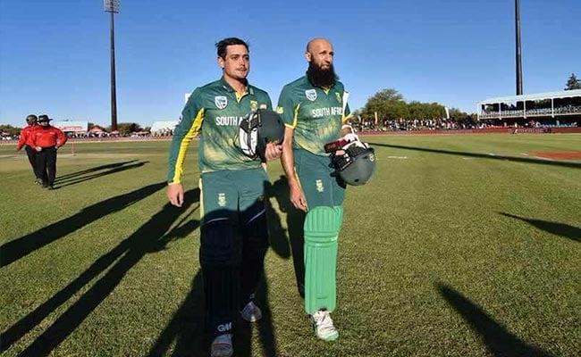 डिकॉक-अमला की रिकॉर्ड साझेदारी से दक्षिण अफ्रीका की बांग्लादेश पर बड़ी जीत