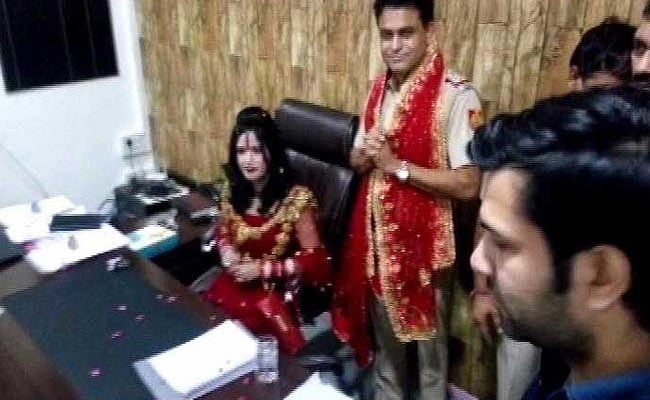 'Godwoman' Radhe Maa Spotted In Police Officer's Chair, Probe Ordered