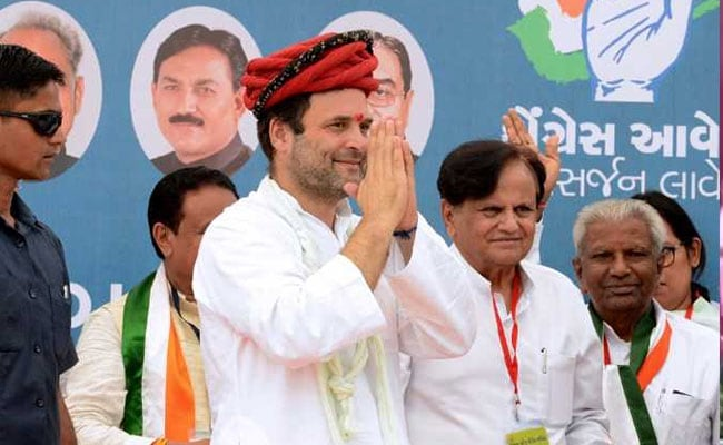 Image result for BJP not invincible in Gujarat, we will get 135 seats in next polls: Rahul