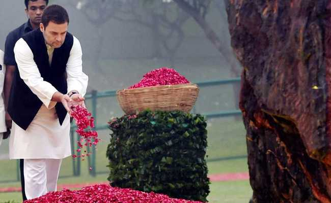 Congress Leaders, PM Modi Pay Tribute To Indira Gandhi On Death Anniversary