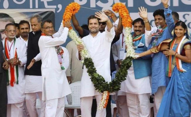 Rahul Gandhi's 'Weather Report' For Gujarat Forecasts 'Jumlon Ki Baarish'