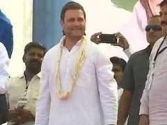 LIVE: GST is <i>Gabbar Singh</i> Tax, Says Rahul Gandhi In Gandhinagar