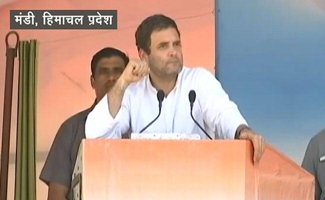 हिमाचल में चुनावी बिगुल: राहुल गांधी ने केंद्र को रोजगार और किसानों के मुद्दे पर घेरा