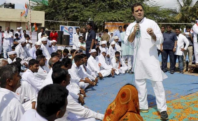 Congress vice president Rahul Gandhi meets supporters in Gujarat