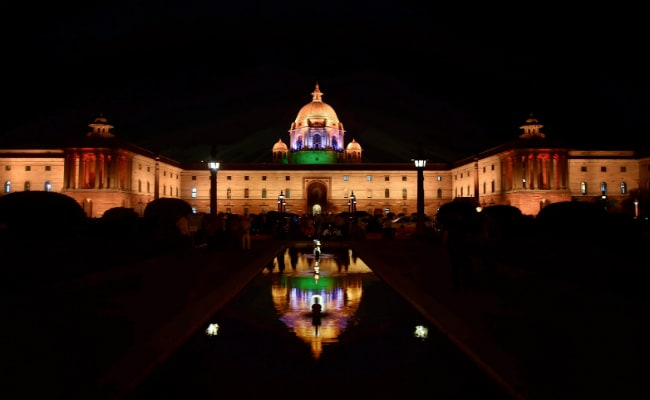 New dynamic lighting illuminates North Block, South Block