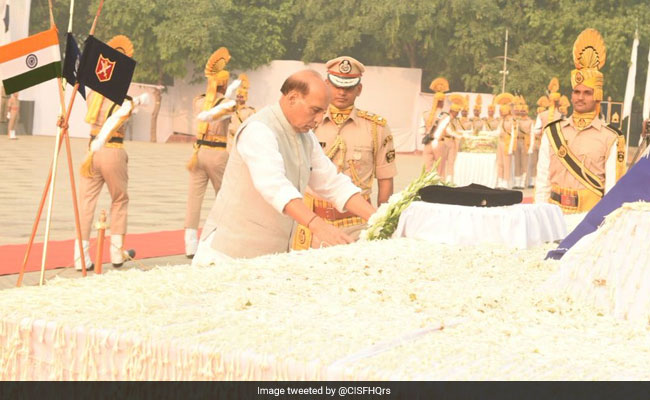 Rajnath Singh to pay homage to cops killed in 1959 Chinese firing
