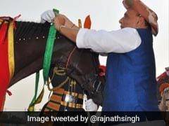 'They Served Nation Too' Rajnath Singh Honours ITBP's Four-Legged Heroes