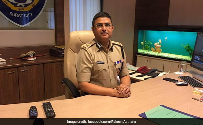 Eight IPS officers, including Rakesh Asthana, promoted
