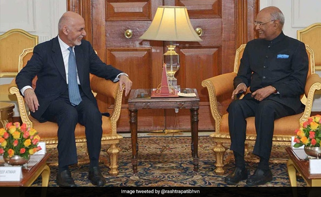 India For Afghan-Controlled Peace Efforts: India To President Ashraf Ghani