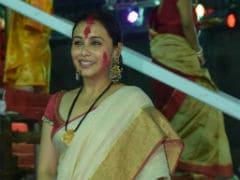 Durga Puja 2017: Rani Mukerji Celebrates  Sindur Khela On Vijayadashami
