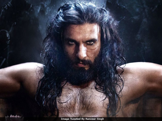 Ranveer Singh As Padmavati's Alauddin Khilji Is The Stuff Of Twitter's Nightmares