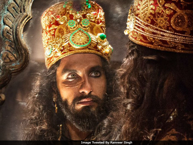 Image result for padmavati images ranveer singh as alauddin khilji