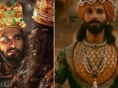 Ranveer Singh And Shahid Kapoor's <i>Padmavati</i> Costumes Decoded In Detail