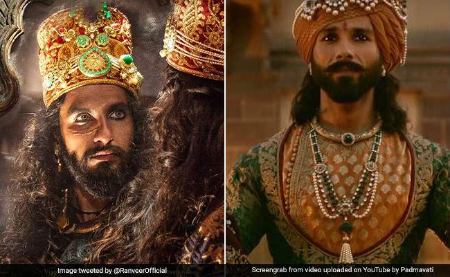 Ranveer Singh And Shahid Kapoor's Padmavati Costumes Decoded In Detail